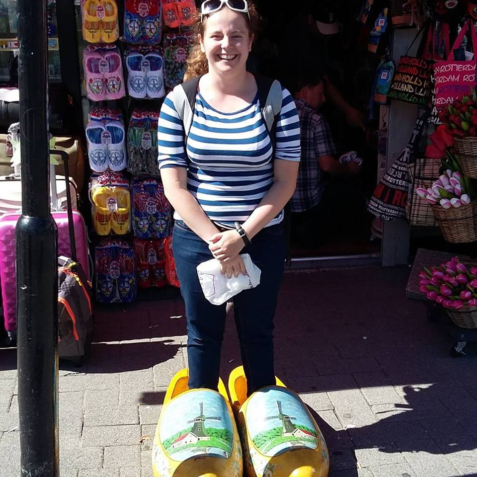 CULTURE Me with my clogs on