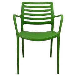 Stackable Resin Chairs Green Little Tikes High Chair New Outdoor Arm Restaurant Cafe Seat