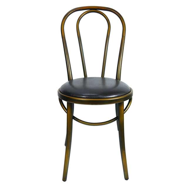 retro cafe dining chairs big man recliner chair covers new replica thonet metal bentwood restaurant