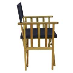 Directors Chair Outdoor Furniture Hanging Home Goods New Timber Frame Navy Blue Deck Folding
