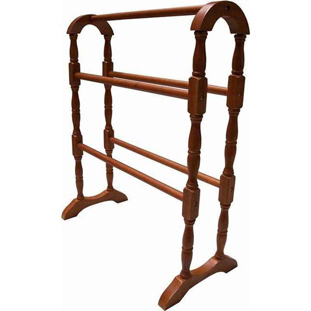 Akubra Wooden Towel 5 Rail Stand 770mm High