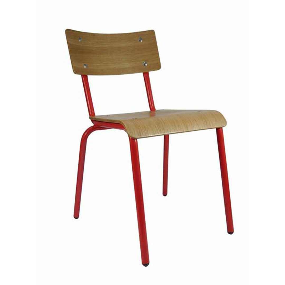 retro cafe dining chairs mid century upholstered skinner restaurant chair oak red cb1871 jpg