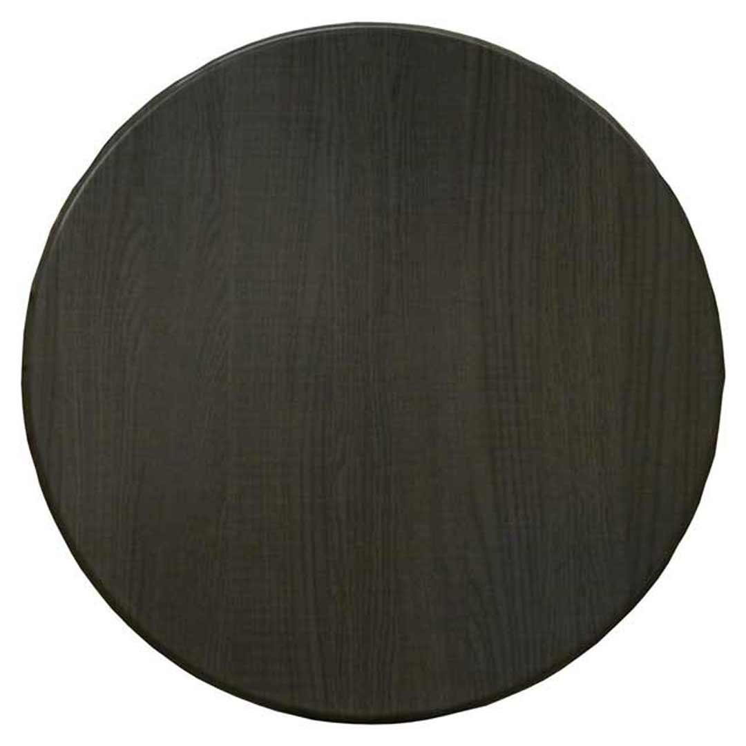 Isotop Outdoor Table Top Round 700mm Dark Oak