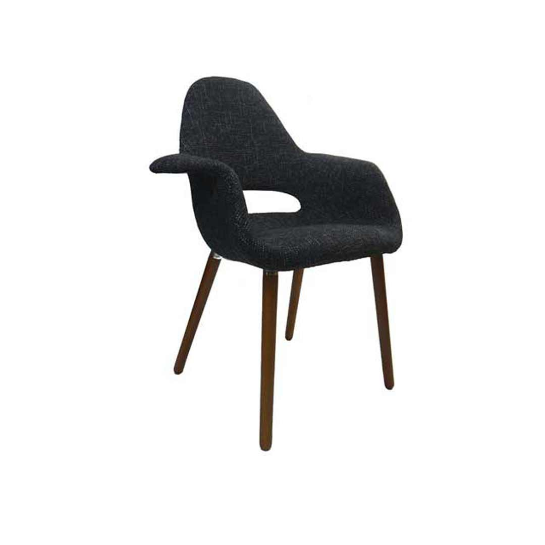 bubble club chair replica ikea poang rocking organic eames padded armchair cafe lounge black