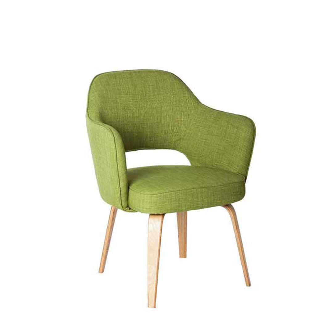 green lounge chair see through dining chairs kim tub visitors office armchair bedroom