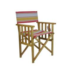 Directors Chair Outdoor Furniture Swivel Dining Room Chairs Timber Frame Structured Lime Deck Folding
