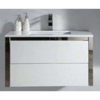 white gloss wall mounted bathroom cabinet