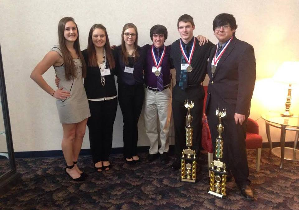 High School Accounting Students Compete in Regional Business and Professionals Accounting Contest