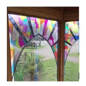 stained glass year 2 style