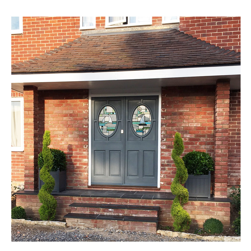 completed door panels