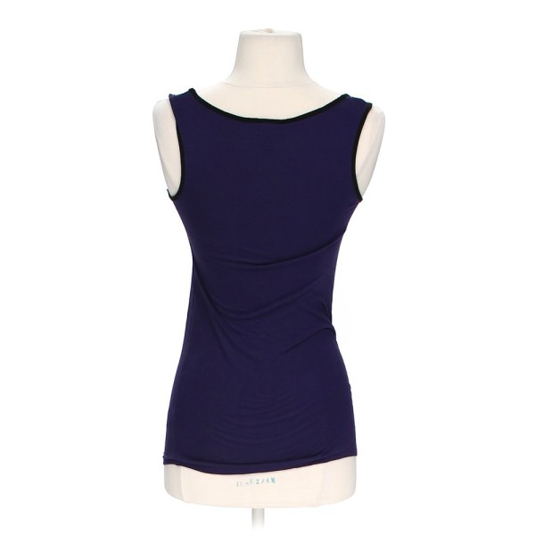 Purple Mossimo Supply . Embellished Tank Top In Size Xs