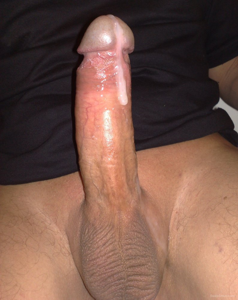Huge black dick cum