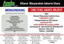 Serukan Aksi Penolakan Terhadap Ahok, Aliansi Masyarakat Jakarta Utara Bersatu Bakal Turun ke Jalan