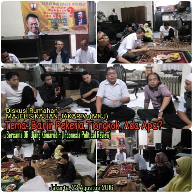 Suasana Diskusi Majelis Kajian Jakarta