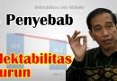 Mengapa Elektabilitas Jokowi Terus Turun?