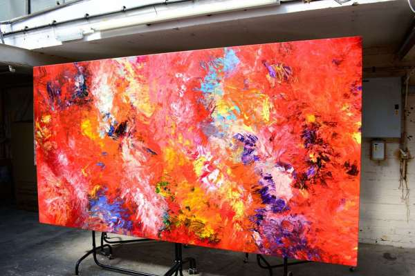 Large Modern Art And Big Abstract Paintings Swarez