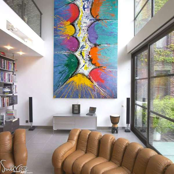 Large Abstract Art And Big Modern Paintings