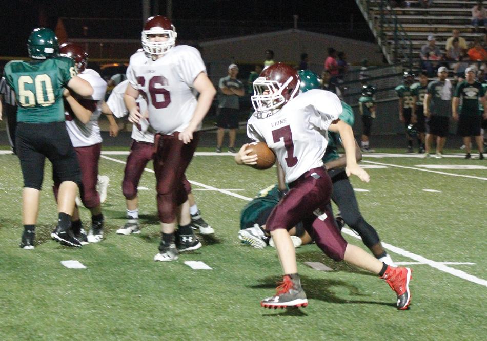 Mineral Springs Vs Mount Ida Junior High Football