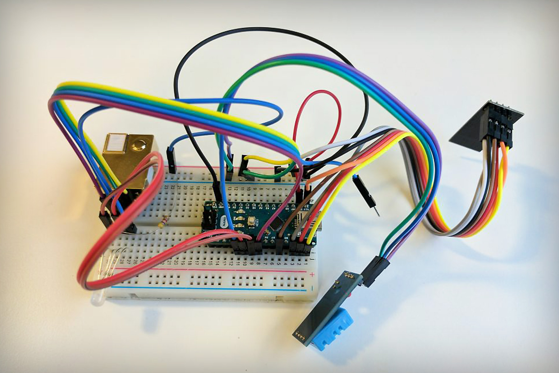 hight resolution of cheap and simple iot home sensor network