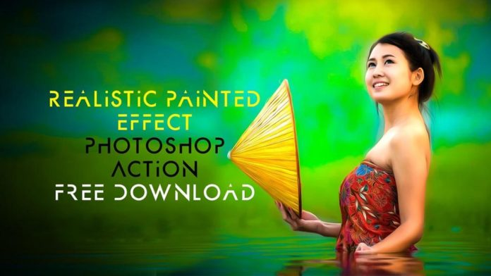 Realistic Oil Painting Effect Photoshop Action Free Download