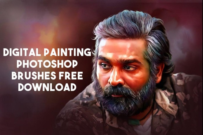 Digital Painting Photoshop Brushes Free Download