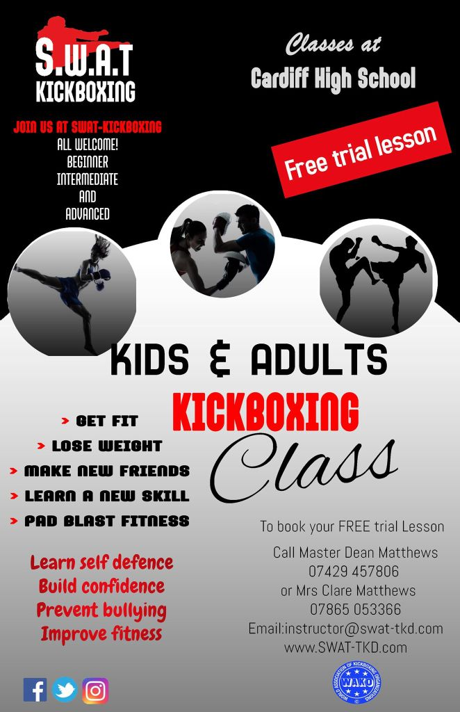 SWAT Kickboxing, book your free trial session today
