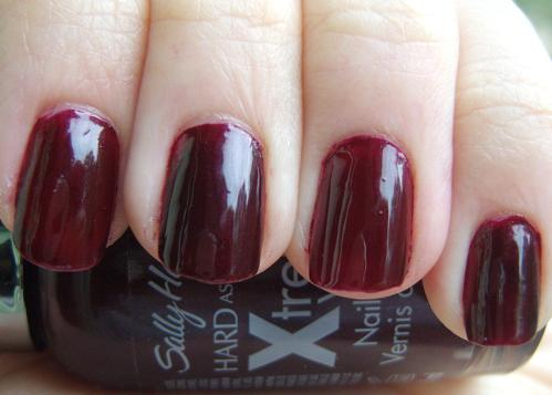 Sally Hansen Hard As Nails Xtreme Wear Flirt Swatches  Review  Swatch And Learn