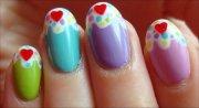 nail art tutorial cupcake nails