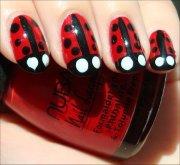 nail art tutorial ladybug nails