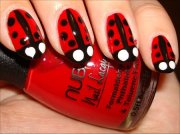 nail art tutorial ladybug nails
