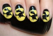 nail art tutorial witch nails