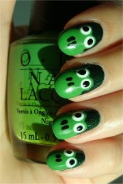 nail art tutorial frog nails
