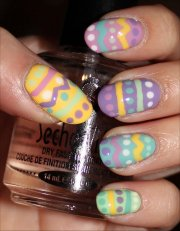 nail art tutorial easter egg nails