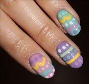 nail art tutorial easter egg nails