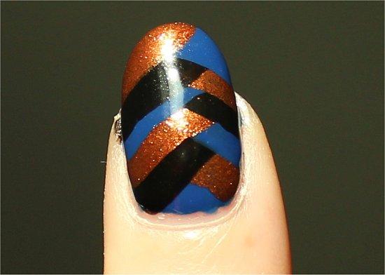 Easy Nail Art Tutorial Braided Fishtail Nails