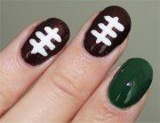 nail art tutorial football nails