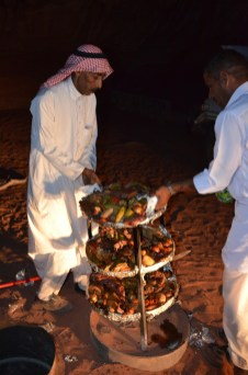 Dinner Time, Bedouin Style