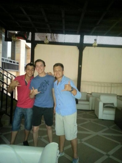 With Friends In Aqaba