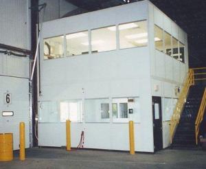 Mezzanine Level Modular Offices