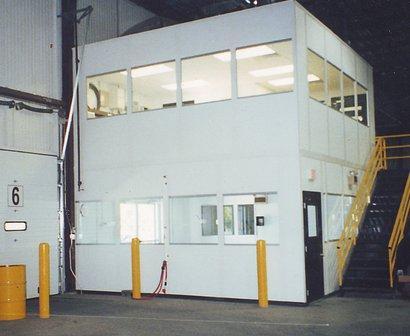 modular offices warehouse