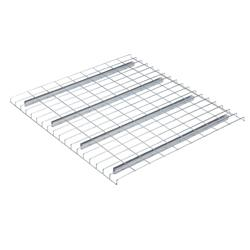 pallet racks, wire decking
