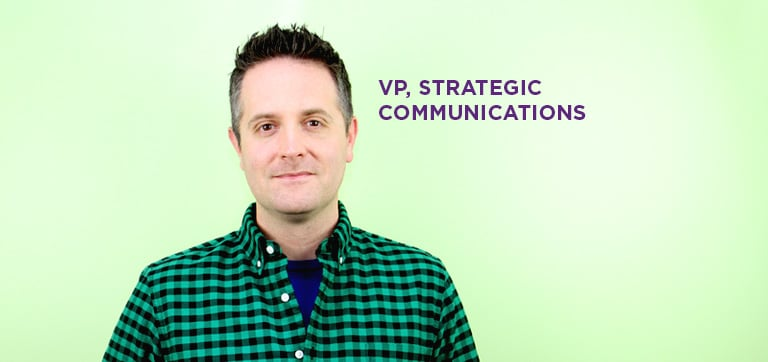 Mike Walbert, vice president of strategic communications at SWBR, an agency headquartered in Lehigh Valley, Pa.
