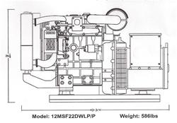 12KW, Performer Series, Generator, Hanco, Hanco Generator