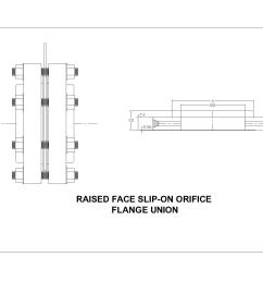 class 300 raised face slip on orifice flanges [ 1600 x 1280 Pixel ]