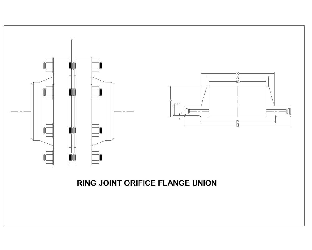 medium resolution of class 1500 ring joint orifice flanges