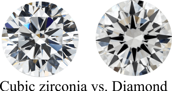differences between cubic zirconia