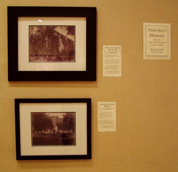 """""""lydia' World"""" Exhibitions In Lindsborg 2005 - 2011"""