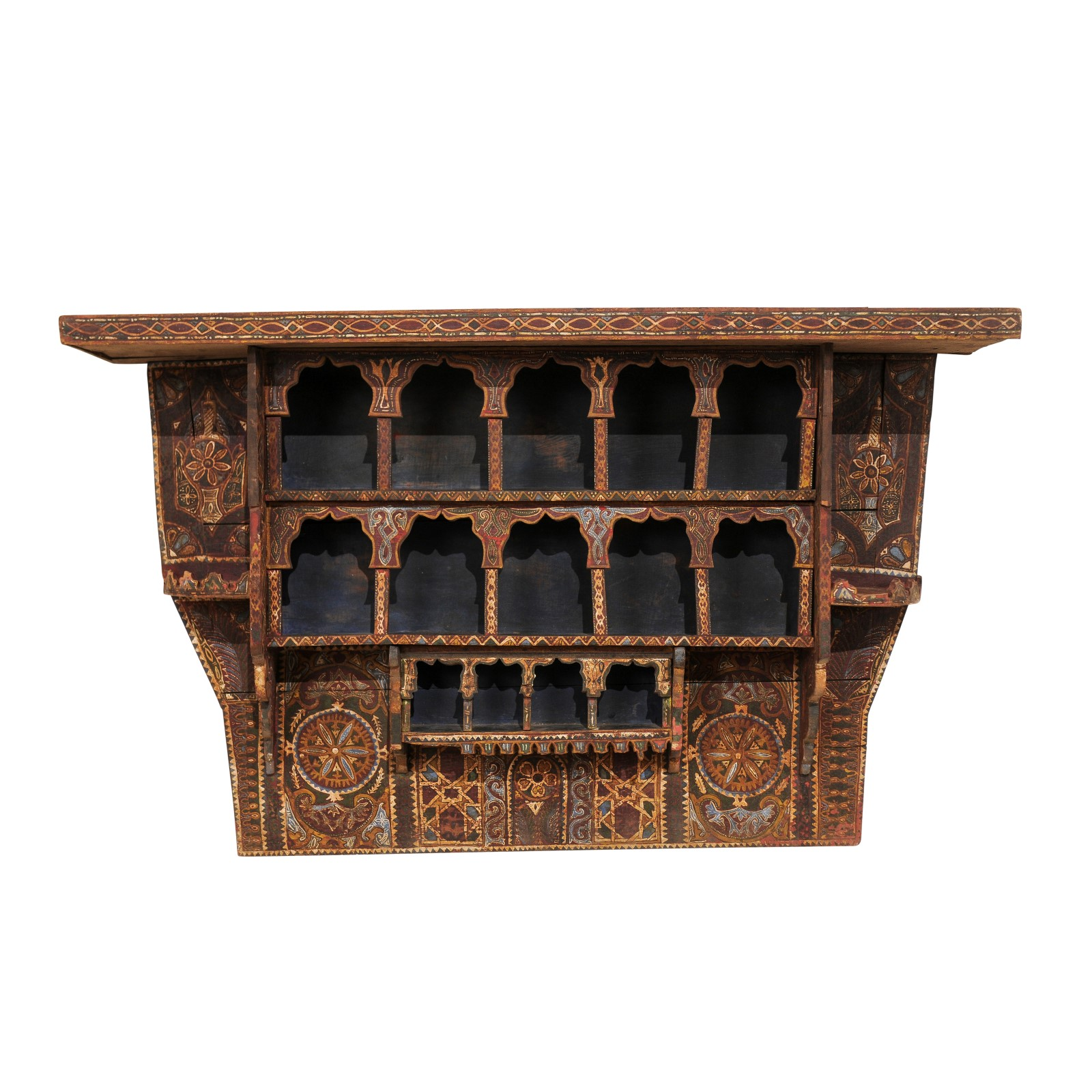 a vintage moroccan spice rack 1454 a tyner antiques