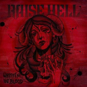 Raise Hell - Written In Blood - Artwork