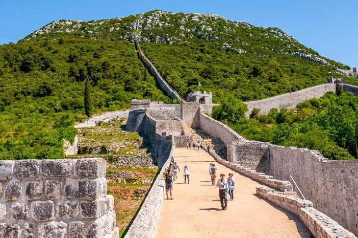 Ston city wall